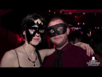 Der Ball Der Schwarzen Masken 2014 - der schwärzeste Ball des Jahres im Cabaret Fledermaus